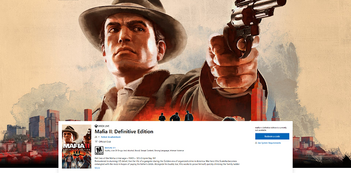 Buy Mafia II_ Definitive Edition - Microsoft Store - Mozilla Firefox 2020_05_13 22_21_53