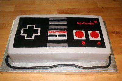 9afa2e57795cbcf6e280676d280cea9a--video-game-cakes-video-game-party